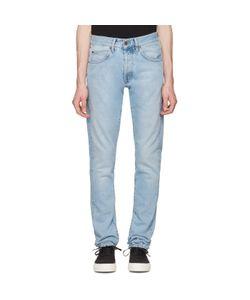 OFF-WHITE | Slim Spray Diagonal Jeans
