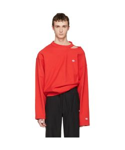 VETEMENTS | Champion Edition Cut Out Neckline Pullover