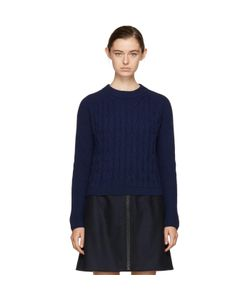 Carven | Cropped Wool Sweater