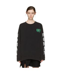 OFF-WHITE   Psycho Plant Pullover