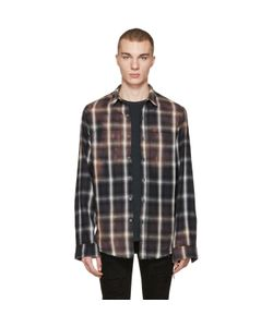 AMIRI | Spray Plaid Shirt