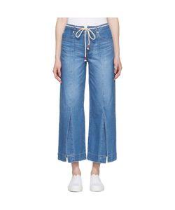 SJYP | Wide Slit Jeans