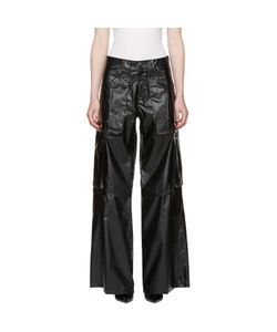 MISBHV | Faux-Leather Cargo Pants