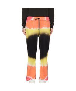 OFF-WHITE   Tie-Dye Split Lounge Pants