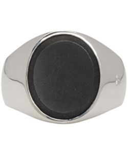 TOM WOOD | Oval Onyx Ring