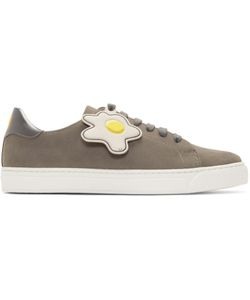 Anya Hindmarch | Wink And Egg Tennis Sneakers