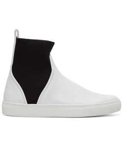 Cedric Charlier | Pull-On High-Top Sneakers