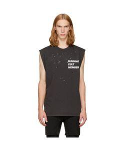 SATISFY | Cult Moth Eaten Muscle T-Shirt