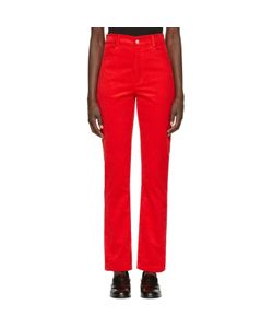 MARTINE ROSE | Corduroy Trousers