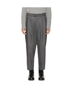ATTACHMENT | Pleated Tapered Trousers