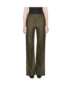Nina Ricci | High Waist Wide-Leg Trousers