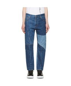 Alexander McQueen | Patchwork Kickback Jeans