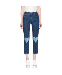 Stella Mccartney | High Waist Cropped Skinny Jeans