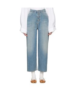MM6 by Maison Margiela | Carryover Wide-Leg Crop Jeans