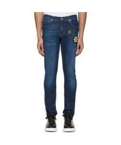 Alexander McQueen | Embroide Badges Jeans