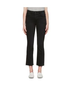 Helmut Lang | High Rise Crop Raw Jeans