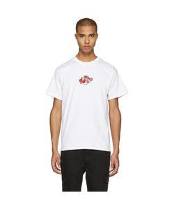 Noah | Embroide Paisley Logo T-Shirt