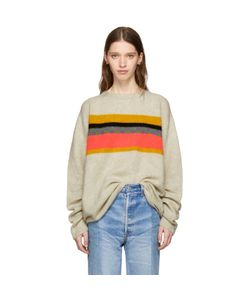 The Elder Statesman | Cashmere Gofa Stripe Sweater