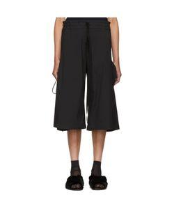 Roberts Wood | Wide-Leg Side Tie Trousers