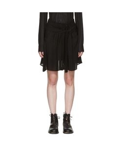 Ann Demeulemeester | Pleat Layer Miniskirt