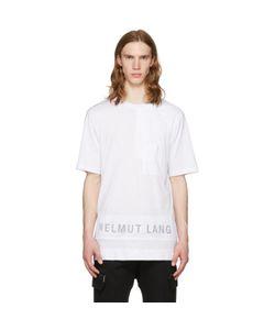 Helmut Lang | Mesh Combo Logo T-Shirt