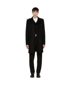 Pierre Balmain | Long Double-Breasted Military Coat