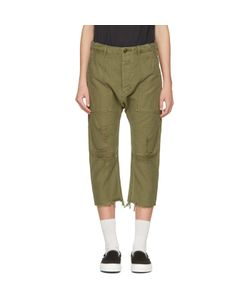 R13   Ripped Utility Trousers