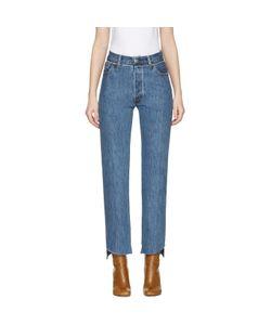 VETEMENTS   Levis Edition Classic Reworked Denim Jeans