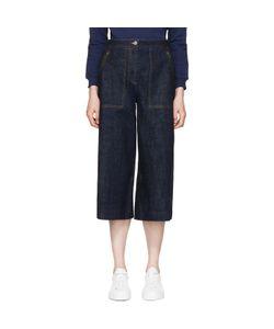 Kenzo | Cropped Wide-Leg Jeans