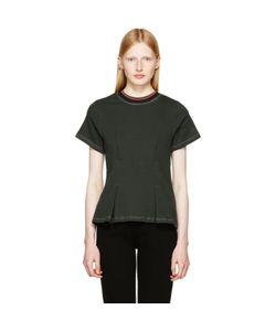 ECKHAUS LATTA | Topstitched T-Shirt