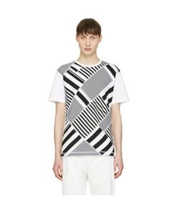 ganryu | And Striped T-Shirt
