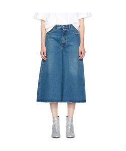 MM6 by Maison Margiela | Cropped Wide-Leg Jeans