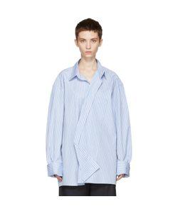 VETEMENTS   Comme Des Garçons Edition Asymmetric Packshot Shirt
