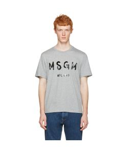 MSGM | Paint Logo T-Shirt