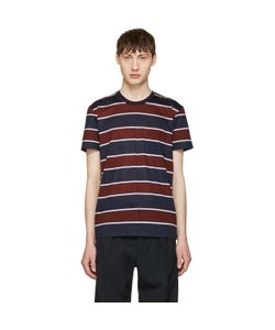 Ami Alexandre Mattiussi | Striped Pocket T-Shirt