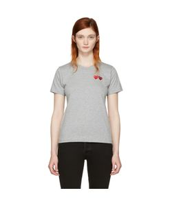 Comme des Gar ons Play | Double Heart T-Shirt