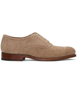 Grenson | Suede Luther Brogues