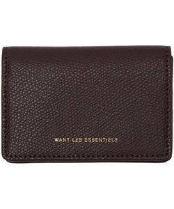 Want Les Essentiels | Lambert Card Holder