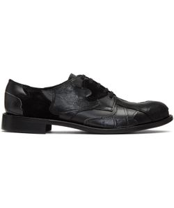 COMME DES GARCONS HOMME PLUS | Leather Patchwork Derbys