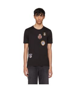 Dolce & Gabbana | Embroidered Crest T-Shirt