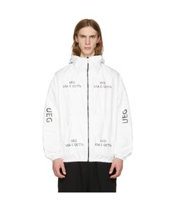 UEG | Tyvekreg Logo Hooded Jacket
