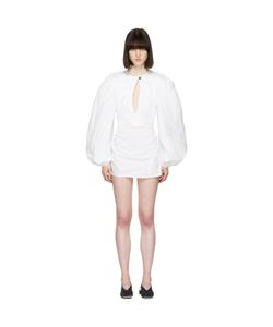JACQUEMUS | La Blouse Shirt Dress