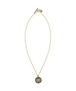 Versace | And Round Medusa Tag Necklace
