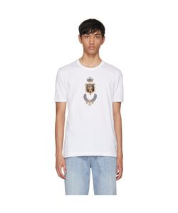 Dolce & Gabbana | Embroidered Crown T-Shirt
