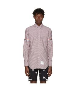 Thom Browne | Classic University Check Grosgrain Shirt