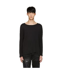 Diet Butcher Slim Skin | Asymmetric Loose Pullover