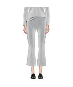 ROSETTA GETTY | Cropped Flared Trousers