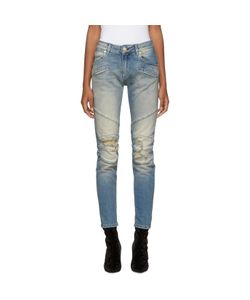 Pierre Balmain | Distressed Biker Jeans