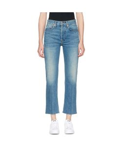 RE-DONE | Originals High-Rise Stove Pipe Rigid Jeans