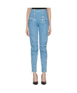Pierre Balmain | Buttoned Skinny Jeans